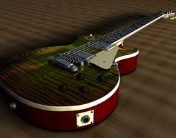 3D Gibson Les Paul