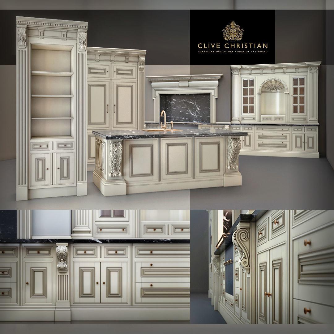 Clive Christian kitchen | 3D model