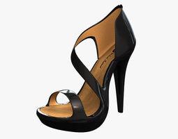 women High Heels 3D model