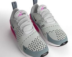 Air Max 270 Nike PBR 3D model