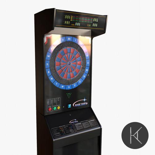 Arcade Dart Board