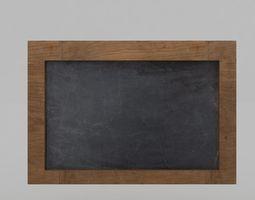 Slate Board 3D
