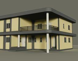 3D model Home - Made in Blender