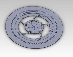 3D Iris Mechanism and Animation
