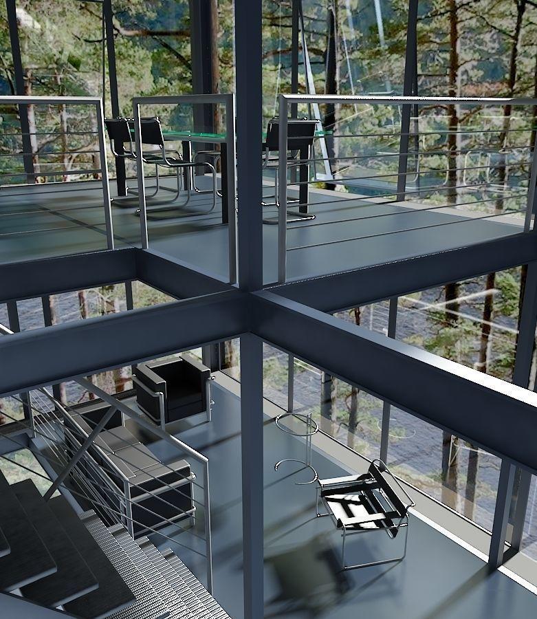 minimal office floor