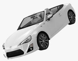 Toyota FT-86 Open Concept 2013 3D model
