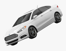 Fusion Titanium 2014 3D model