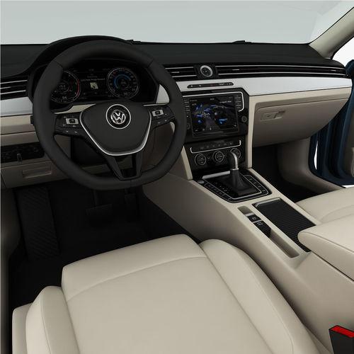 Volkswagen Passat Variant 2015 Detailed Interior 3d Model Max Obj 3ds Fbx  Mtl 17