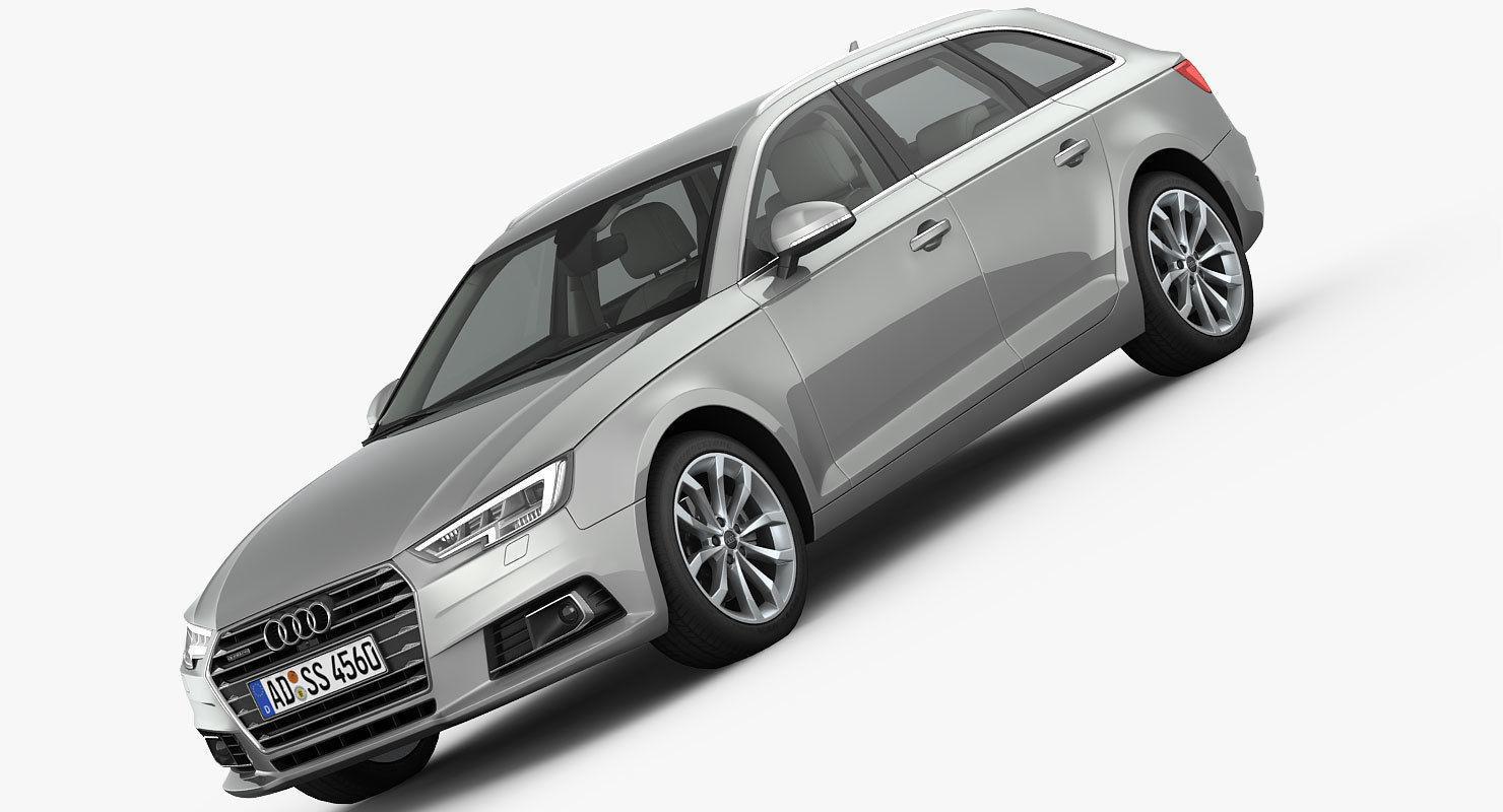 Audi A4 Avant 2016 detailed interior