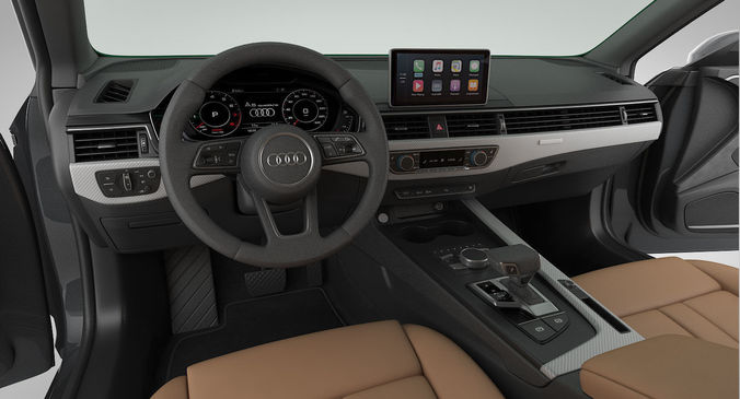 Audi A5 Sportback 2018 Detailed Interior Model Max Obj Mtl S Fbx 19