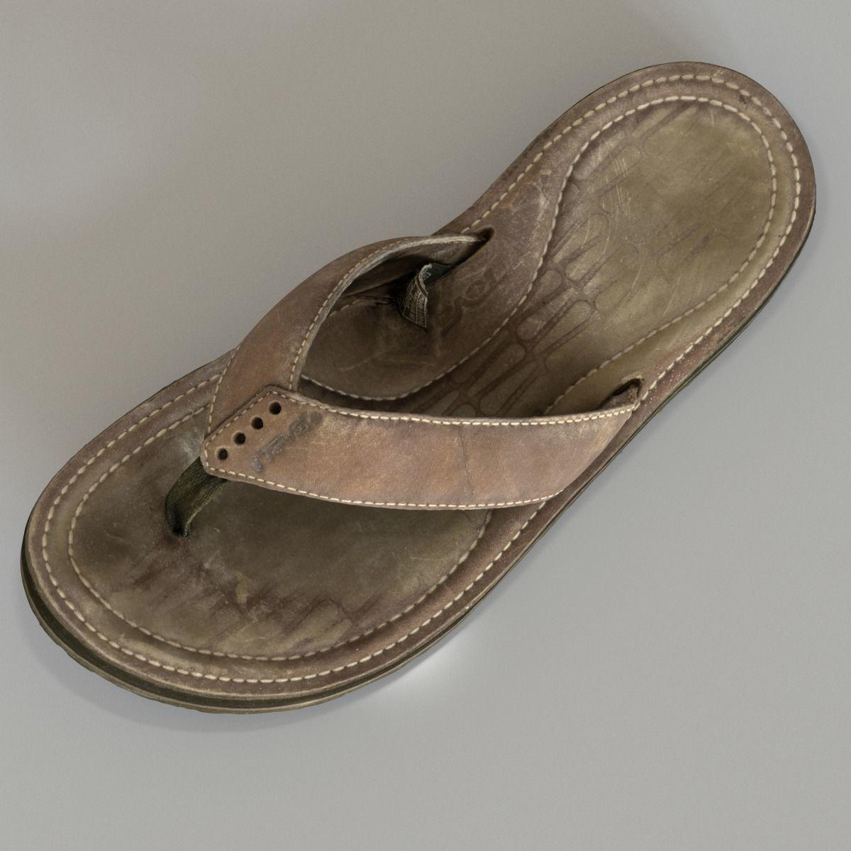 c0be2475bd2490 ... old teva sandal 3d model max fbx c4d ma mb 5 ...