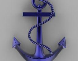 3D printable model anchor 2