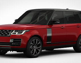 3D Range Rover SVAutobiography Dynamic 2018 detailed