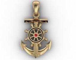 anchor pendant valve 3D printable model