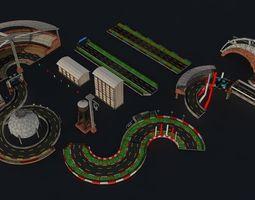 3D asset Racetrack