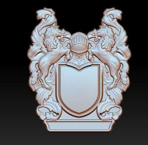 coat of arms 3d model stl 1