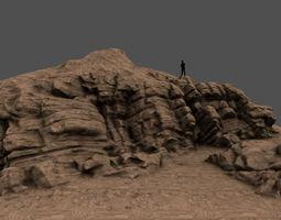 desert rocks 3D