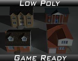 3D model House Collection Set 2