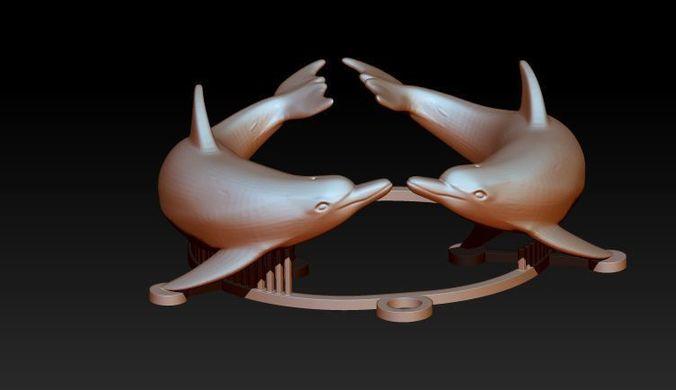 dolphin 3d model stl 1
