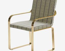 3D furniture Versace Unique Chair