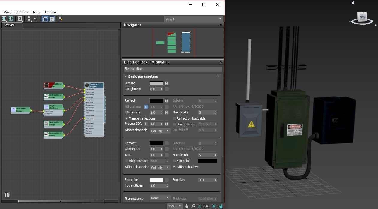 3D asset Electrical Boxes | CGTrader