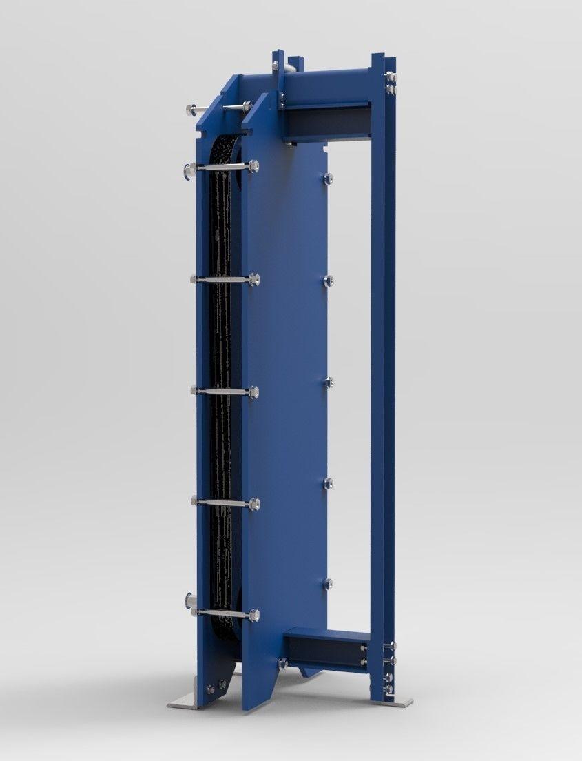 Plate Heat Ciller | 3D model