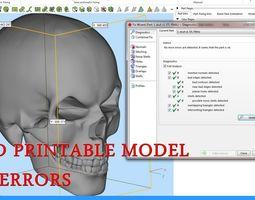 3D printable model Mad Skull
