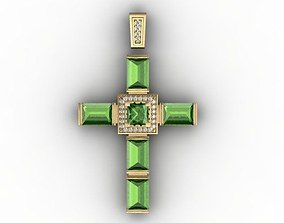 3D print model silver cross