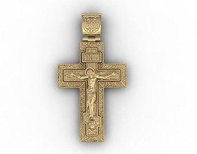 3D printable model cross jewel