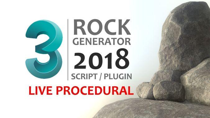 rock generator v2 2018 3d model ms 1