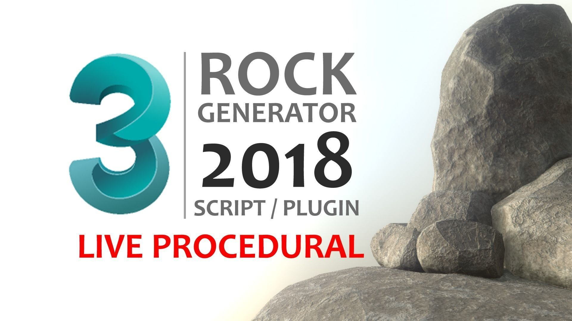 Rock Generator v2 2018   3D model