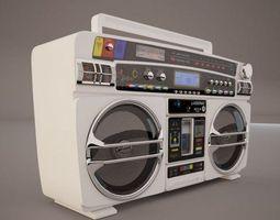 3D Lasonic Boombox