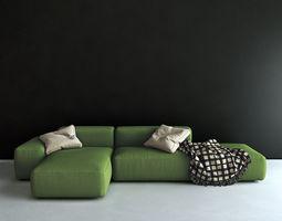 3D Lapalma sofa plus