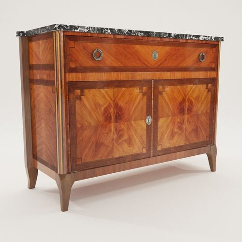 Classicistic writing commode - France around 1800