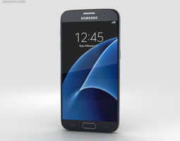 Samsung Galaxy S7 Black 3D