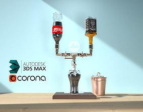 beverage 3D Design for drinking