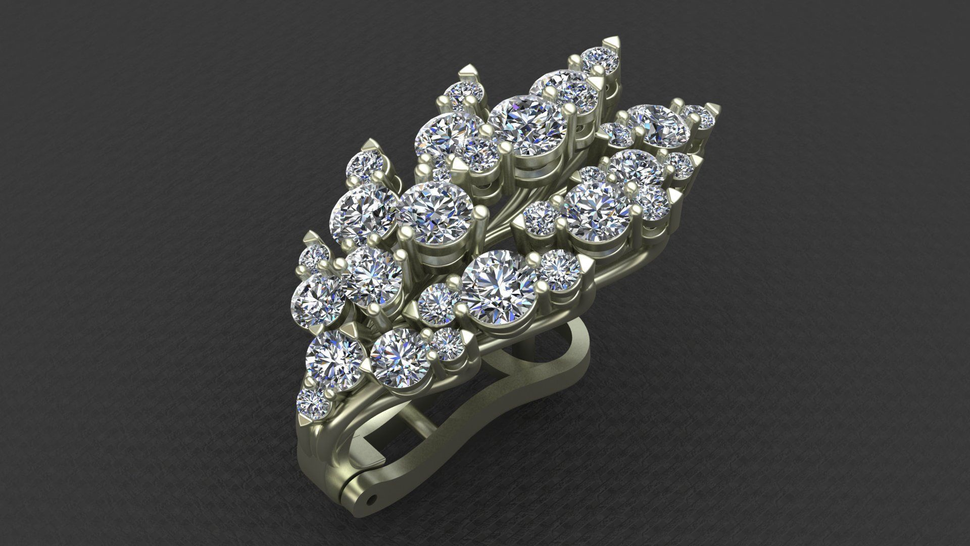 diamond gold ring webstore product leo row ernest engagement eternity three rings d white number jones