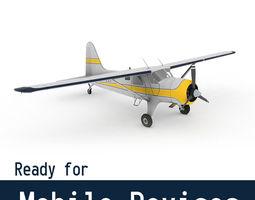 3D model DeHavilland DHC-2 Beaver