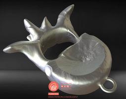 Pendent bone 3D printable model