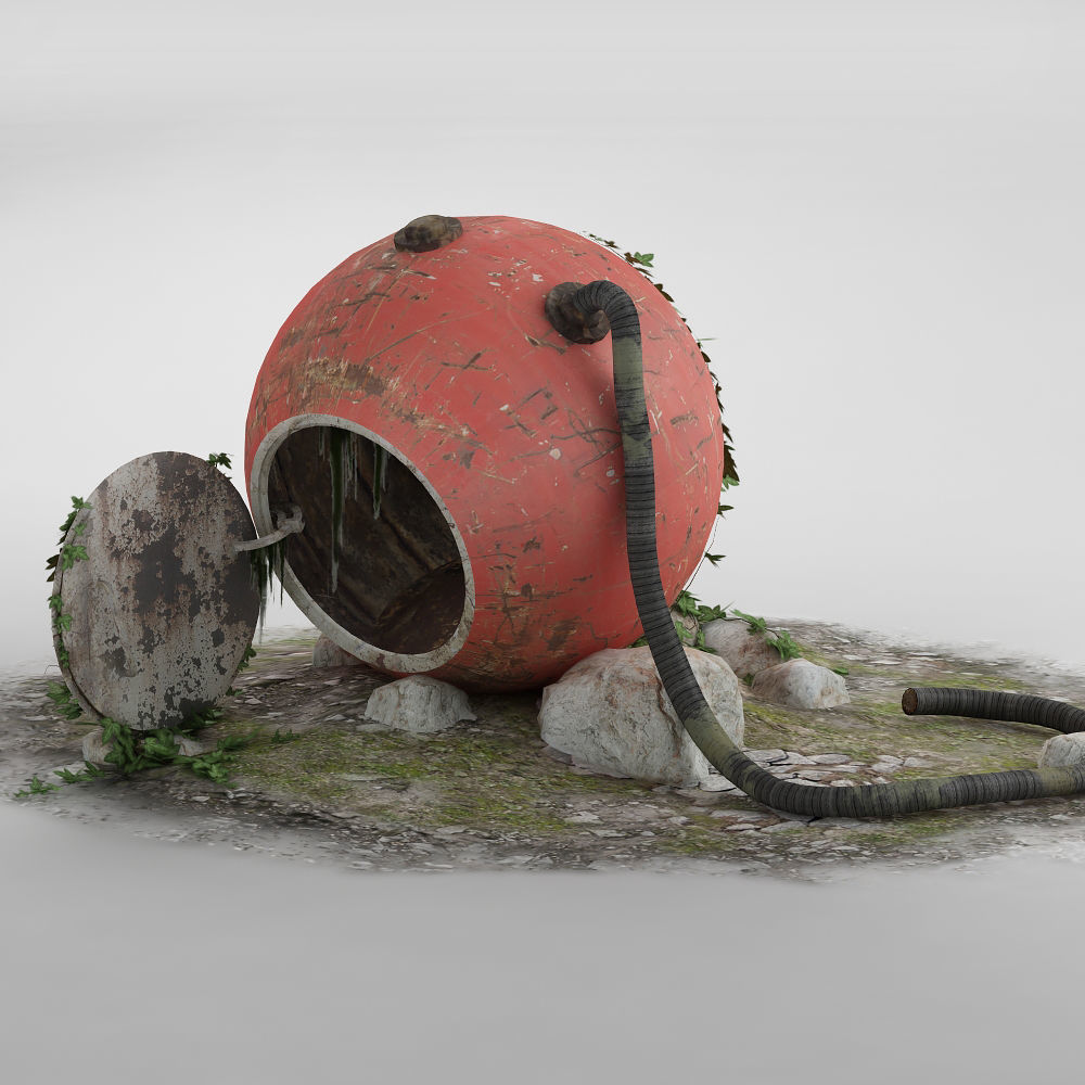 The abandoned rescue capsule 01