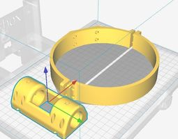 3D print model Laser support for Celestron Astromaster 1