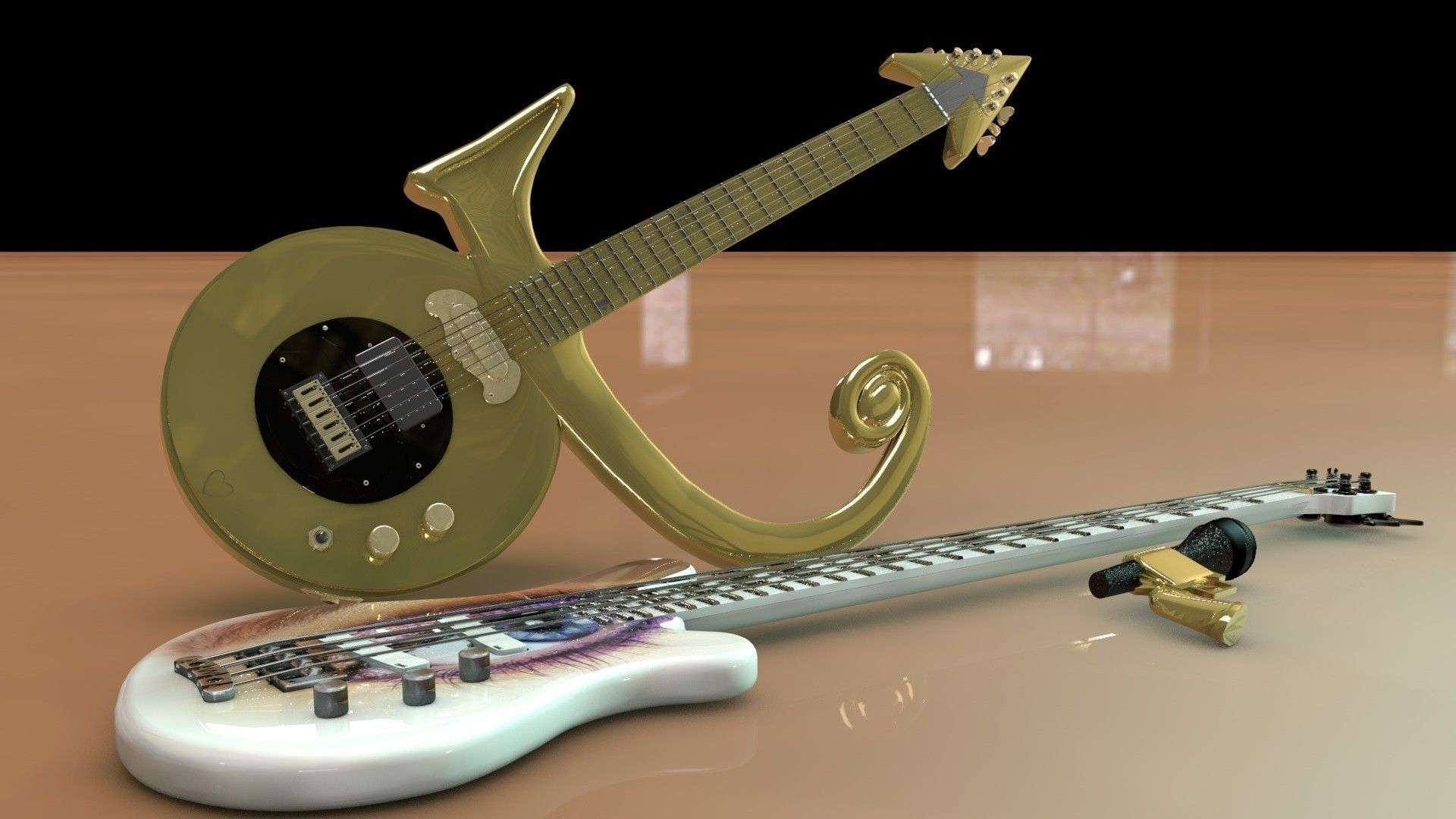 Gun 3d model prince symbol guitar and eye bass cgtrader prince symbol guitar and eye bass 3d model obj 3ds fbx c4d dxf stl 4 buycottarizona