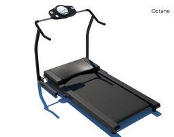 3D model Treadmill gym machine