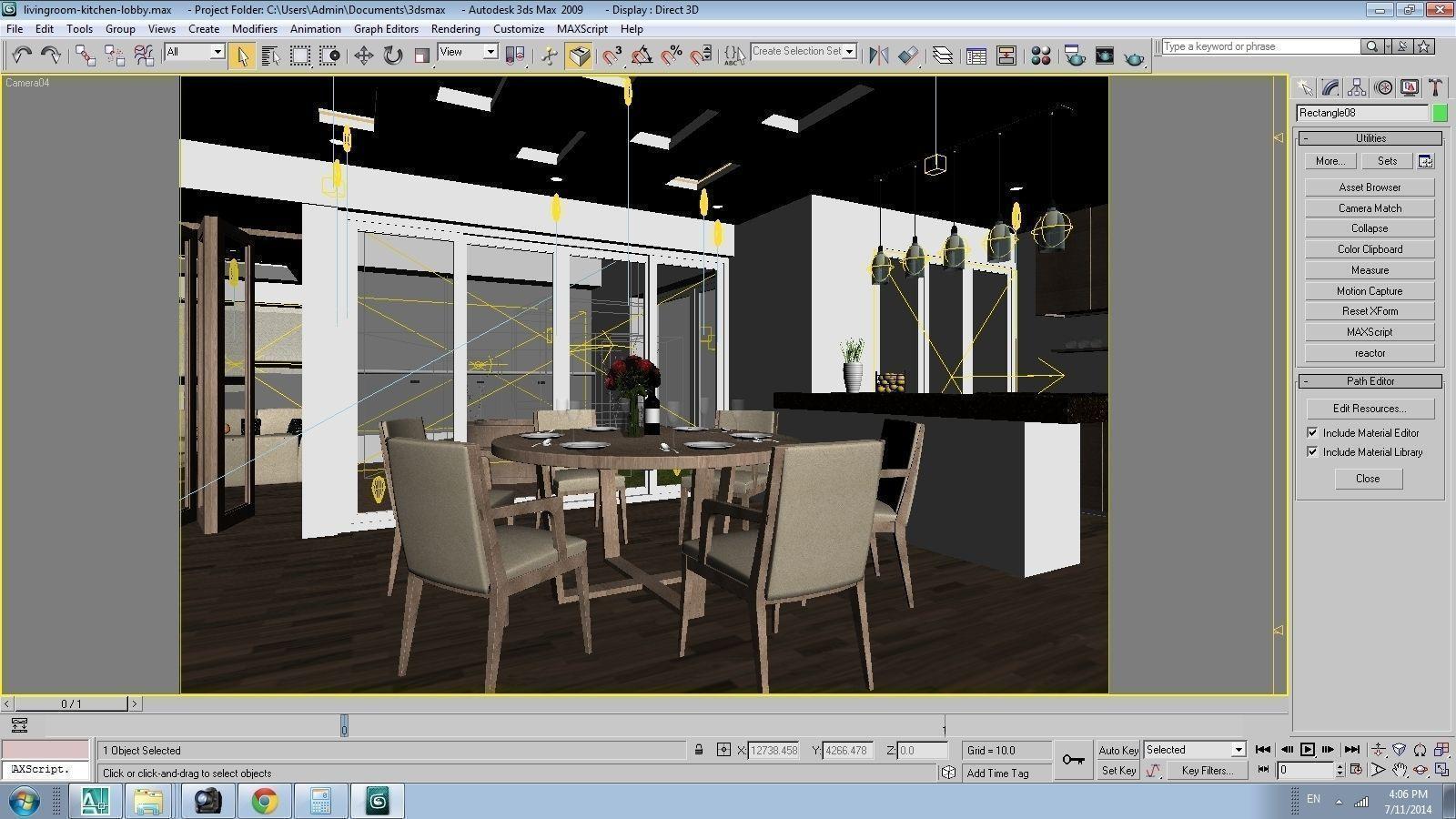3d models cutaway apartment 3d model max for Apartment model house