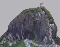 3D The stone of El Penol - Guatape