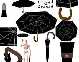 Umbrella 3D object model
