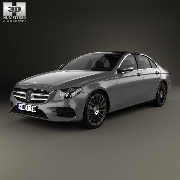 3D Mercedes-Benz E-class W213 AMG Line 2016