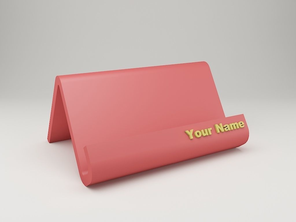 Modern Business Card Holder
