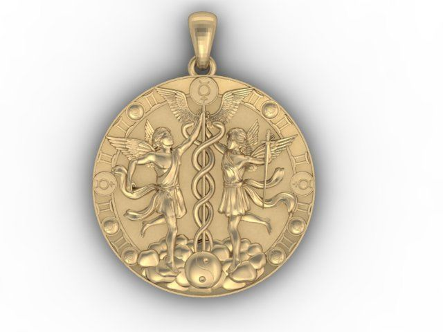 sterling shop pendant silver over necklace in bernini gold fpx product gemini main giani image
