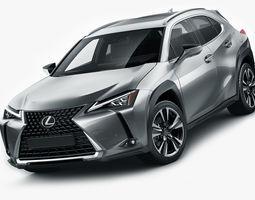 Lexus UX 2019 3D